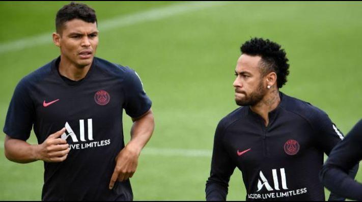 L'Équipe: Neymar y Thiago Silva se fueron a Brasil en un avión privado