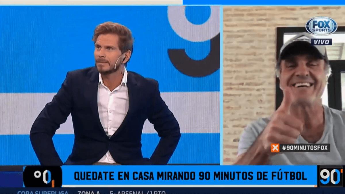 90 Minutos De Futbol En Vivo Por Internet puro 90 minutos: ruggeri nos hizo morir de la risa con su