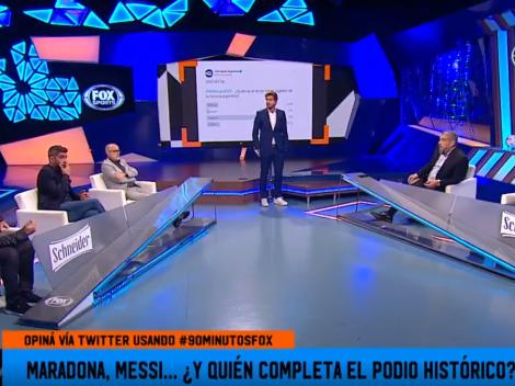 En 90 Minutos completaron el podio histórico de la Selección Argentina