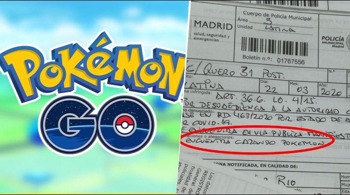Violó la cuarentena, lo paró la Policía y dijo que estaba jugando Pokémon GO