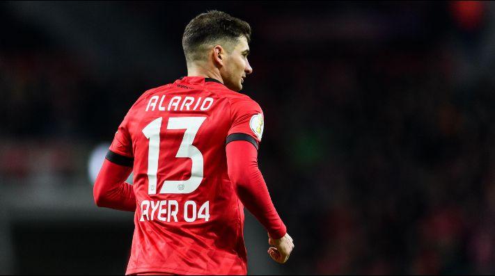 Foto de Lucas Alario, jugador del Leverkusen.