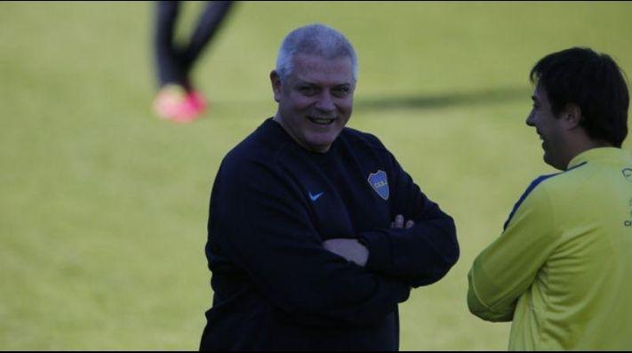 Jorge Batista está en Boca desde 1992.