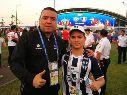 Willie González, un hombre que está siempre cerca del futbol regio.