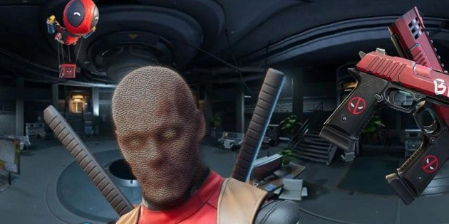 Fortnite  skin filtra sin en Deadpool de máscara la Se