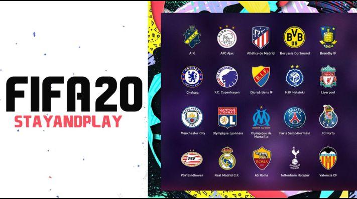 EA Sports anuncia torneo de FIFA 20 con Real Madrid, Liverpool, PSG y otros grandes de Europa