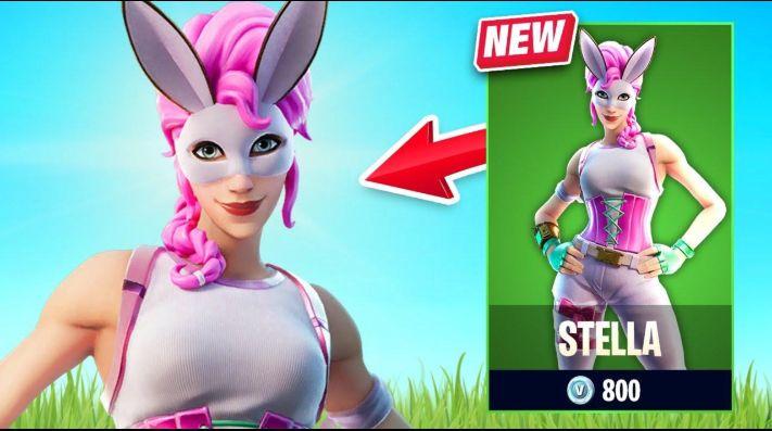 Stella, la nueva skin en la tienda de Fortnite.
