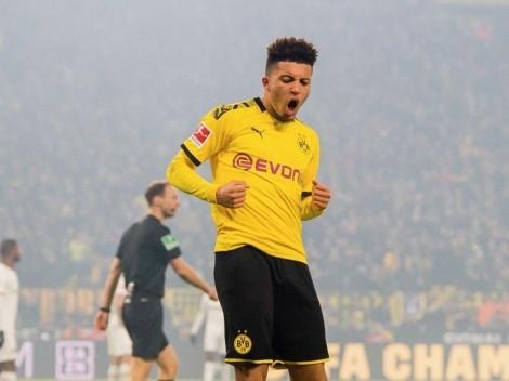 Borussia Dortmund vendería a Sancho y un argentino podría reemplazarlo