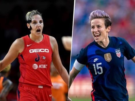 Grandes mujeres: jugadoras de básquet y fútbol se unieron contra el coronavirus en USA