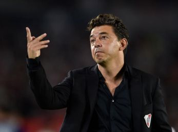 Marcelo Gallardo, director técnico de River.