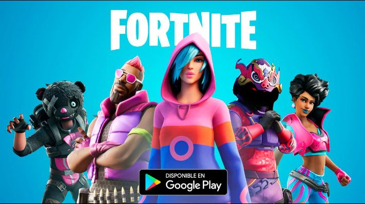 Fortnite, ya disponible en la Play Store de Google.