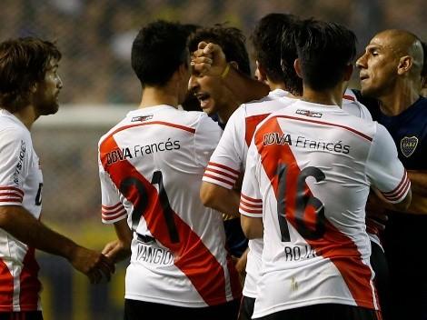 """Simeone, sobre Ponzio y Vangioni en la Sudamericana 2014: """"Le pegaban a todo"""""""