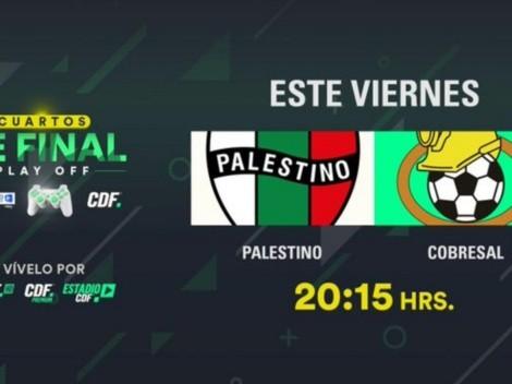 Cómo ver en vivo Palestino vs. Cobresal por el Torneo Entel eSports Chile