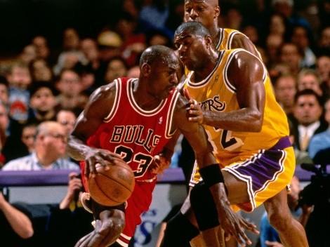 Magic Johnson reveló el rival qué convirtió a Michael Jordan en el más grande