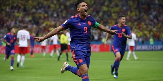 Emoción pura: Colombia revivió el gol de Radamel Falcao en el Mundial Rusia 2018 | Bolavip