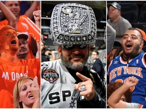 The 25 NBA teams with most fans
