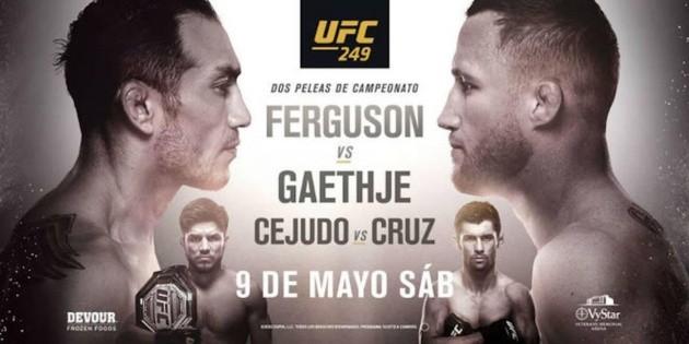 Cómo ver el UFC 249: fecha, hora y cartelera | Bolavip