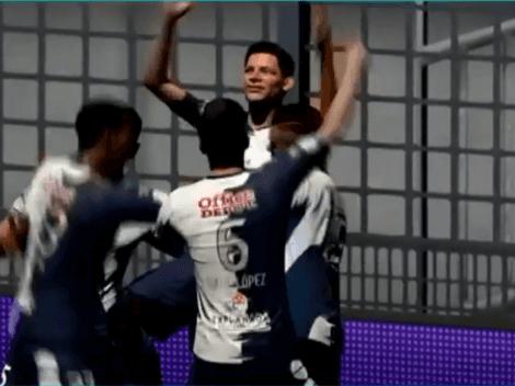 Pachuca lidera la tabla de goleo virtual