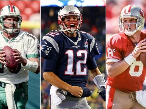Top 50 greatest quarterbacks in NFL history