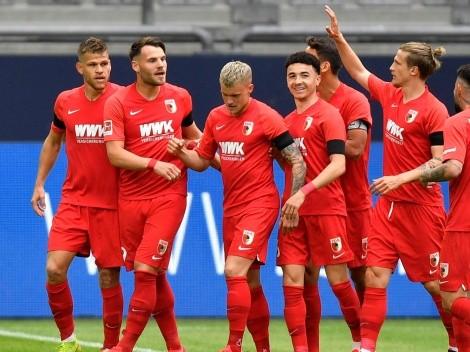 A puro golazo, Augsburg goleó al Schalke de visitante