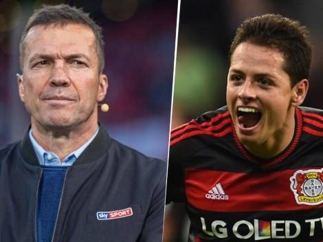 """Lothar Matthaus: """"Chicharito puso en el radar a la Bundesliga"""""""
