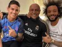 """Roberto Carlos elogia a James y pide paciencia: """"Es un fenómeno"""""""