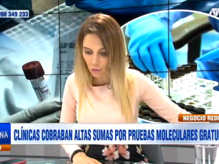 Juliana Oxenford trabaja en ATV.