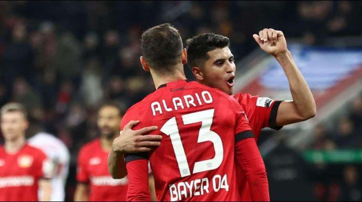 Bayer Leverkusen tuiteó fotos de Alario y Palacios y los de River explotaron