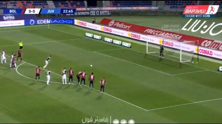 El gol de Cristiano Ronaldo.