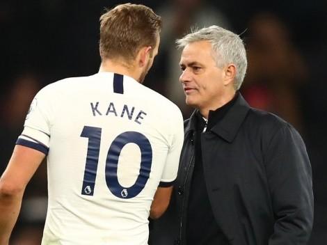 Mourinho defende Kane e relembra sucesso com CR7 e Ibra