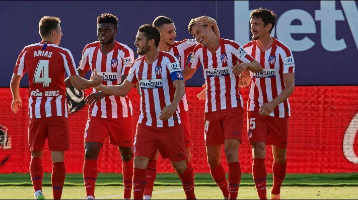 Atlético Madrid le ganó con lo justo al Levante y sigue firme en LaLiga