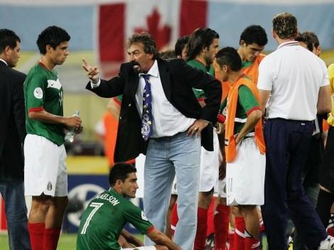 El mensaje de La Volpe a Guardado previo al encuentro frente Argentina que hizo enfadar a Borgetti
