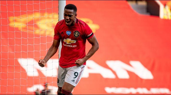 Martial United: con un triplete de Anthony el Manchester venció al Sheffield