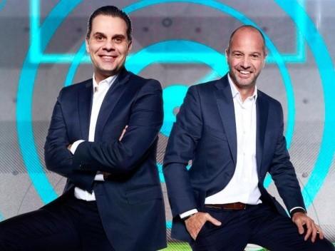 Christian Martinoli y Luis García volverán a narrar los partidos de Cruz Azul