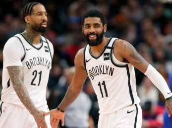 Wilson Chandler y Kyrie Irving (Getty Images)