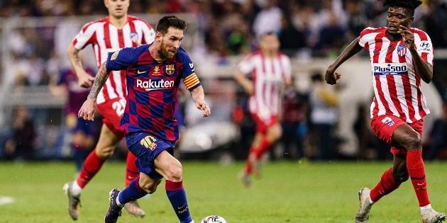 Qué canal transmite Barcelona vs. Atlético Madrid por La Liga   Bolavip