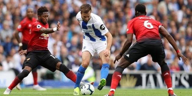 Qué canal transmite Brighton vs. Manchester United por la Premier League | Bolavip