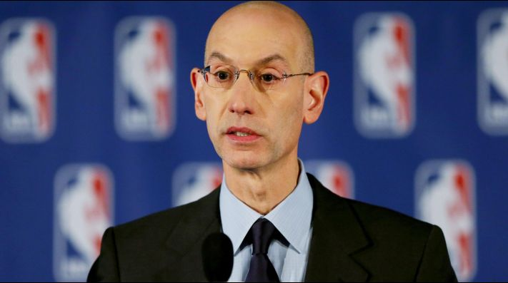 Adam Silver, comisionado NBA (Getty)