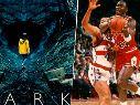 Michael Jordan tiene presencia en Dark, la exitosa serie de Netflix. FOTO: Netflix / Getty Images