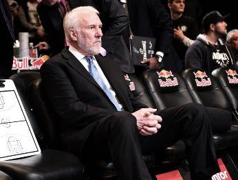 Gregg Popovich en Brooklyn Nets (Getty)
