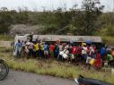 Una tragedia: explotó camión con gasolina y fallecieron 7 personas
