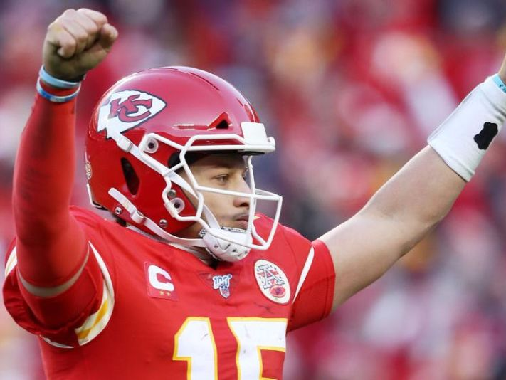 Patrick Mahomes, quarterback de los Kansas City Chiefs (Getty Images)