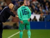 Final final: Zidane sentenció la suerte de James Rodríguez en el Real Madrid