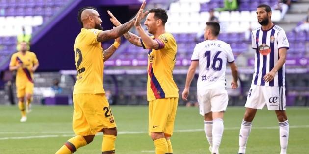 Barcelona juega cada vez peor: hoy sufrió contra Valladolid y ganó 1-0 | Bolavip
