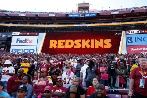 Aficionados de los Washington Redskins