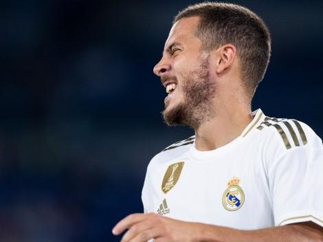 Hazard mira Champions League pelo Real Madrid e faz autocrítica sobre temporada
