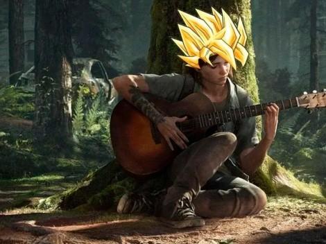 Así suena el tema de Dragon Ball GT en la guitarra de Ellie, de TLOU 2