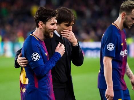 La sincera respuesta de Conte ante la supuesta llegada de Messi al Inter