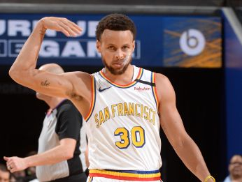 Stephen Curry, base de los Warriors (Getty Images)