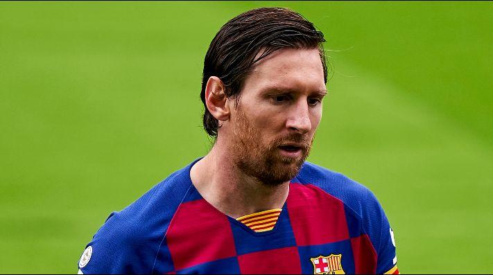 Messi no está del todo conforme con el presente de Barcelona.