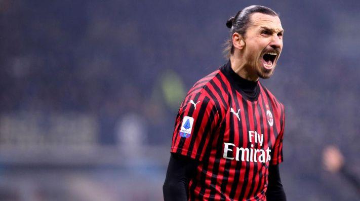 Ibrahimovic, la estrella del Milan. (Getty)